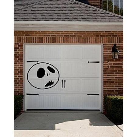 HALLOWEEN DECOR ~ Skeleton Face #5 ~ HALLOWEEN: WALL OR WINDOW DECAL, 20