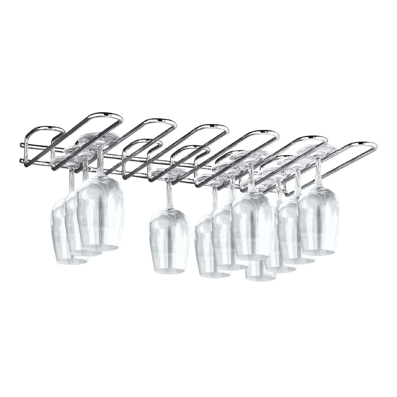 World Cuisine A4406002 Wall Mounted Glass Rack