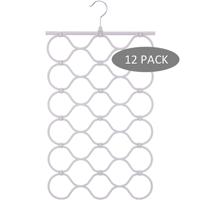 Better Homes & Gardens Nonslip Folding Accessory Hangers, 12 Pack, Gray