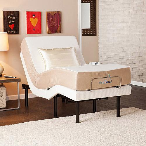 myCloud Adjustable Bed Frame, Twin XL