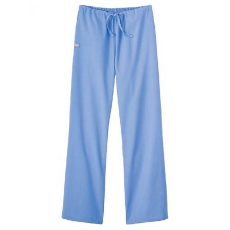 Swan Neck Legs (Fundamentals by White Swan Women's Drawstring Flare Leg Scrub Pants X-Small Ceil)
