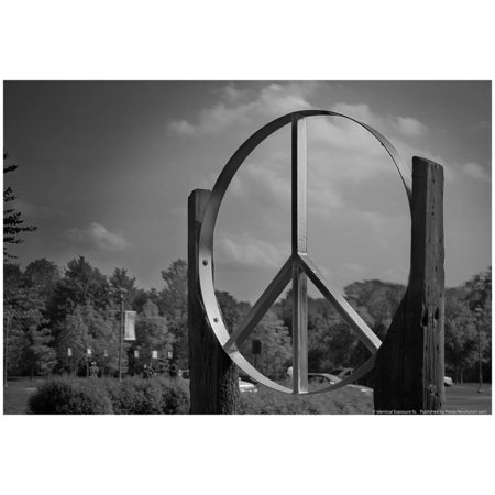 Peace Sign Woodstock Hall of Fame Poster - 19x13