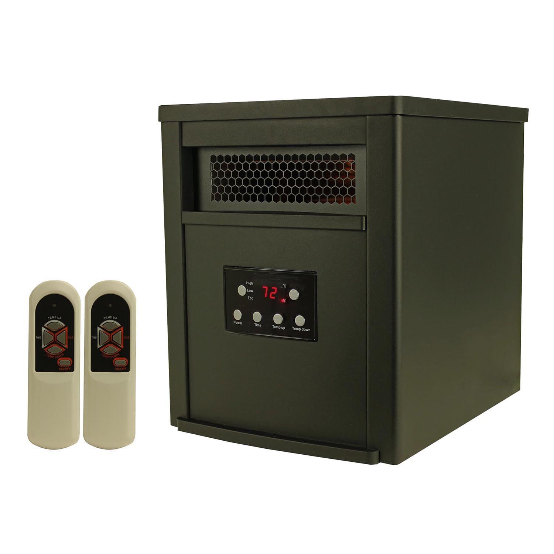 Edenpure Copper Smart1000 Infrared Quartz Heater Walmartcom
