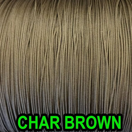 10 YARDS : 2.0MM  CHAR BROWN TRAVERSE CORD for Vertical Blinds & (Best Way To Hang Curtains Over Blinds)