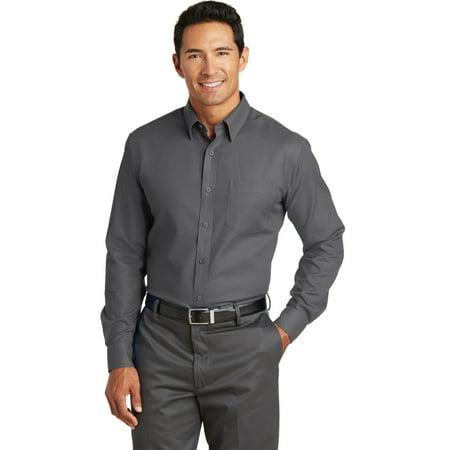 Red House® Non-Iron Diamond Dobby Shirt. Rh76 Dark Charcoal 2Xl - image 1 of 1