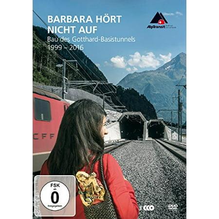 Barbara Is Not Finished Yet - Construction of the Gotthard Base Tunnel (1999 - 2016) - 3-DVD Set ( Barbara hört nicht auf - Bau des St. Gotthard-Basistu [ NON-USA FORMAT, PAL, Reg.0 Import - Germany ] ()