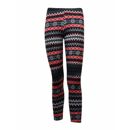 Ultra Flirt Juniors Printed Soft Knit Leggings Walmart