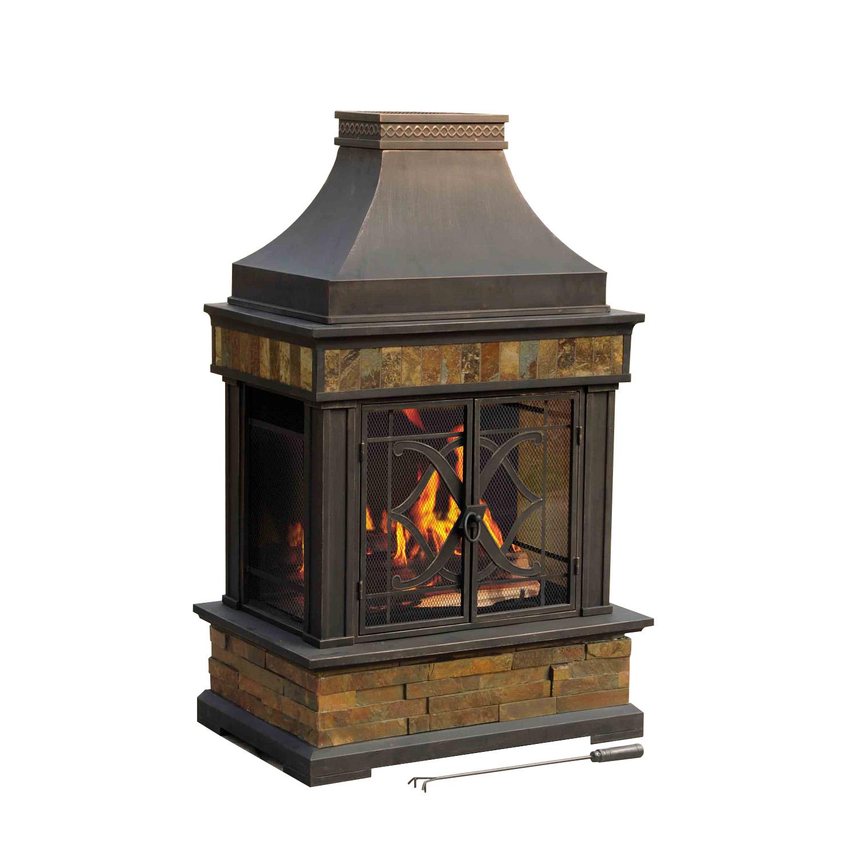 Heirloom Slate Fireplace