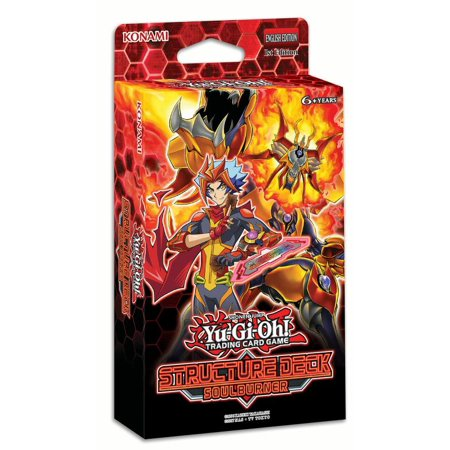 YUGIOH SOULBURNER STRUCTURE DECK (Best Yugioh Deck Card List)