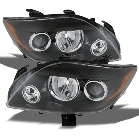 Fits 2008 2009 2010 Scion TC Coupe Projector Headlights Replacement LH+RH 08-10