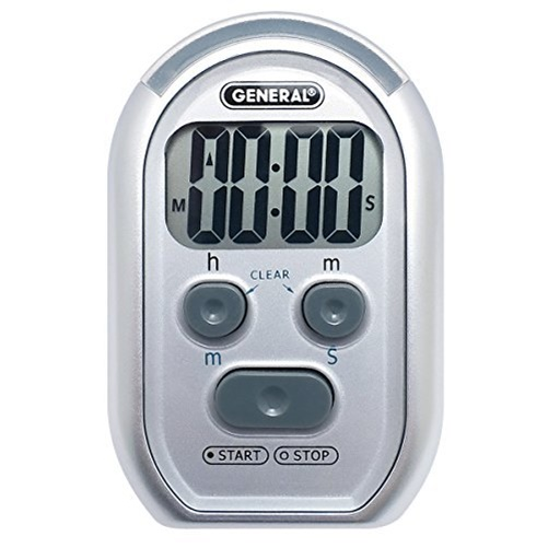 General Tools #TI150 3-in-1 Timer for the Vision or Hearing Impaired