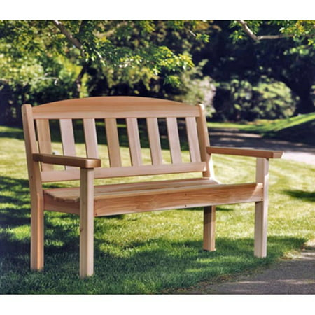 All Things Cedar Western Red Cedar Garden Bench Cedar Creek Cedar Bench