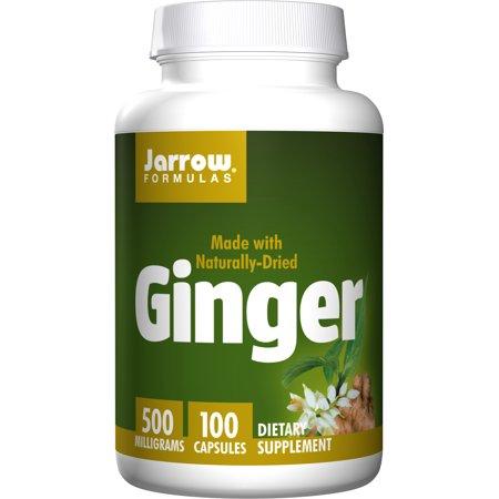 Jarrow Formulas Ginger, Supports Gastroinestinal Health, 500 mg, 100 Caps