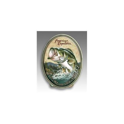 American Expedition MCLP-111 MONEY CLIP - LARGEMOUTH BASS