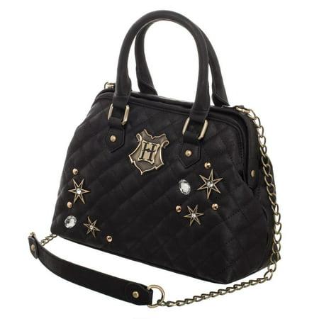 Harry Potter Back To Hogwarts Quilted Embellished Handbag (Harry Potter Purses)