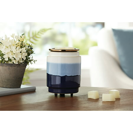 Mainstays Electric Warmer, Blue and White