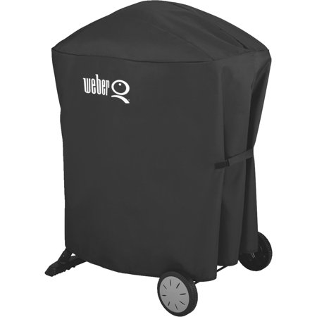 weber q 100 1000 q 200 2000 q cart 32 in grill cover. Black Bedroom Furniture Sets. Home Design Ideas