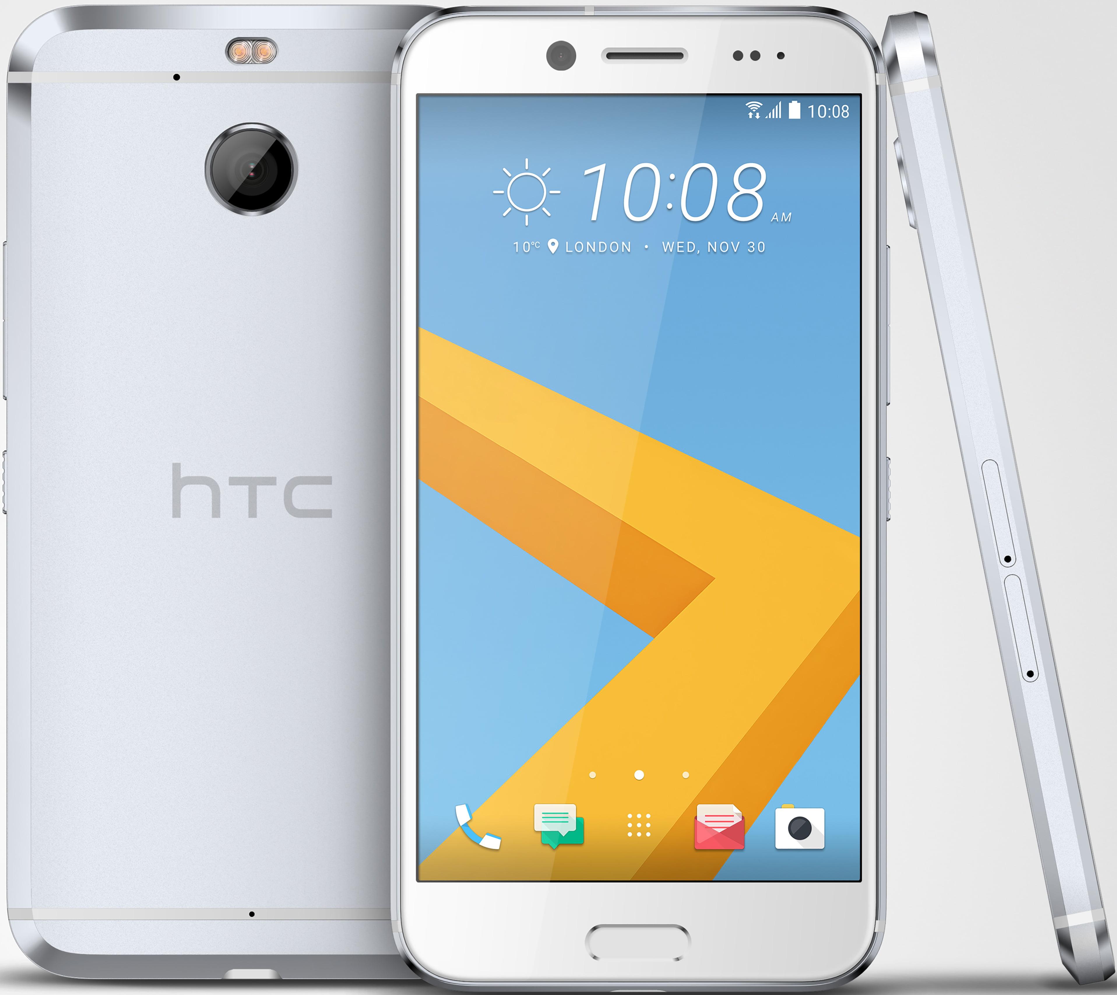 HTC 10 evo 32GB Unlocked GSM 4G LTE Octa-Core Rugged Phone w  16MP Camera Glacial Silver by HTC
