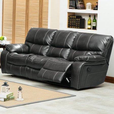Roundhill Furniture Ewa Double Reclining Sofa