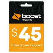 Boost Mobile $45 (Email Delivery)