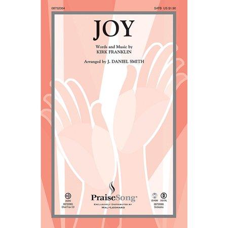 PraiseSong Joy CHOIRTRAX CD by Kirk Franklin Arranged by J. Daniel