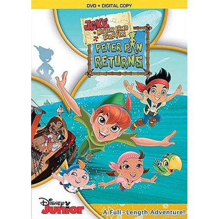 Jake and the Never Land Pirates: Peter Pan Returns (Digital Copy)