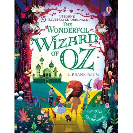 The Wonderful Wizard of Oz (Illustrated Originals) (Hardcover)](Glenda From The Wizard Of Oz)