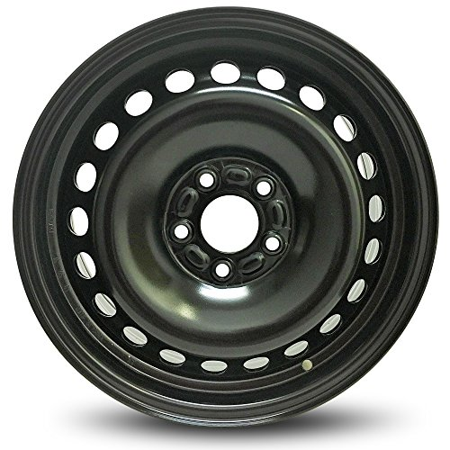 "Road Ready Replacement 16"" Black Steel Wheel Rim 2012-2014 Ford Focus 5 Lug 4.25"""