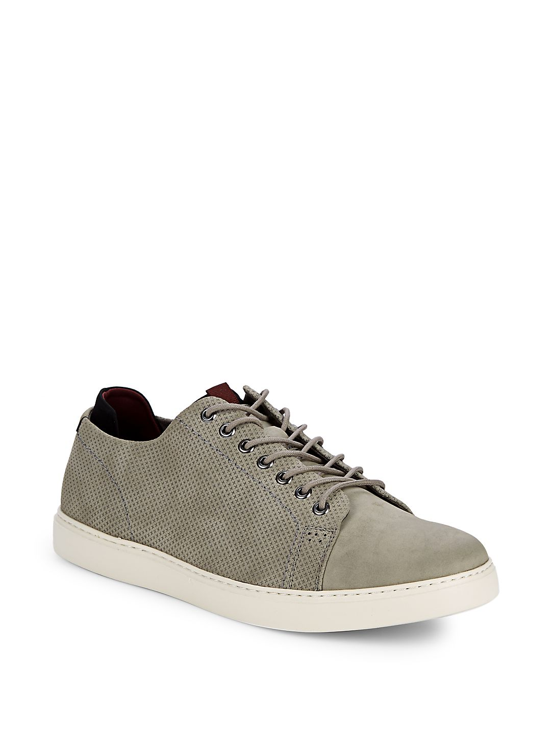 Indy Embossed Low-Top Sneakers