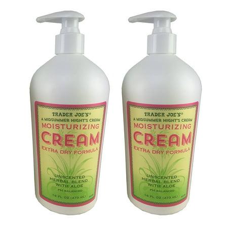 Trader Joe's Moisturizing Cream Extra Dry Formula 2 Pack, Trader Joe's Moisturizing Cream Extra Dry Formula 2 Pack By Trader (Moisturizing Formula)