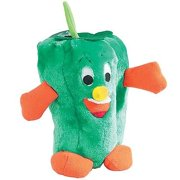 Giggling Veggies Dog Toys Soft Vegetable Themed Funny Giggle Shake Toy (Pepper)