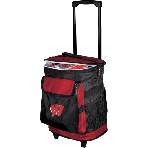"Logo Chair NCAA Wisconsin 15"" x 16"" Rolling Cooler"