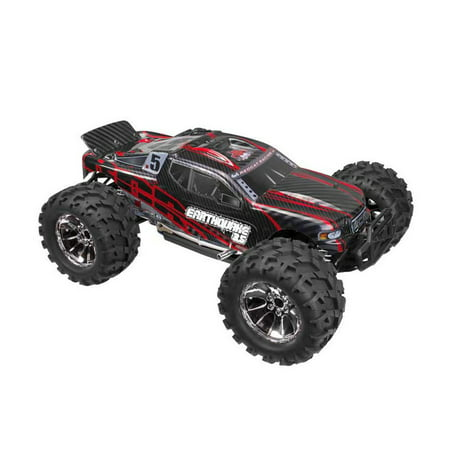 Redcat Racing Earthquake 3.5 1/8 Scale Nitro RC Remote Control Monster Truck Toy ()