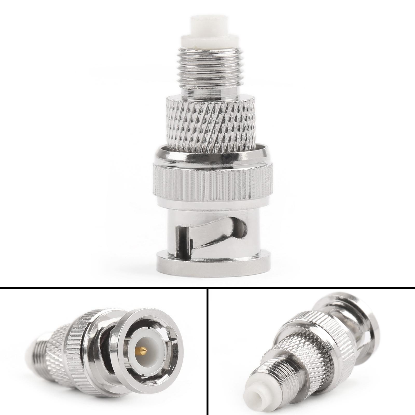 Straight 50 Ohm RF Adaptateur FME Plug to BNC Plug