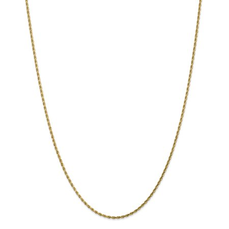 14kt Yellow Gold 1.75mm Link Rope Lobster Clasp Chain Necklace 14 Inch Pendant Charm Handmade Fine Jewelry Ideal Gifts For Women Gift Set From Heart