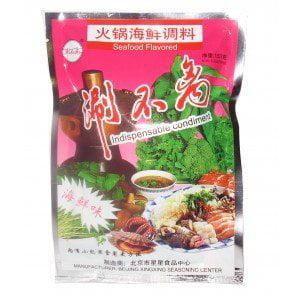 2 Bags Hot Pot Sauce (Seafood Flavor)) 5.29oz D&J Asian Market