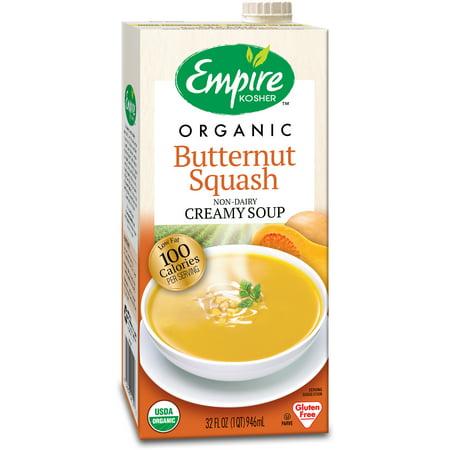 (3 Pack) Empire Kosher Organic Butternut Squash Non-Dairy Creamy Soup, 32 - Rapunzel Organic Soup