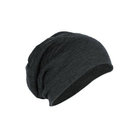 Slouch Beanie- Charcoal