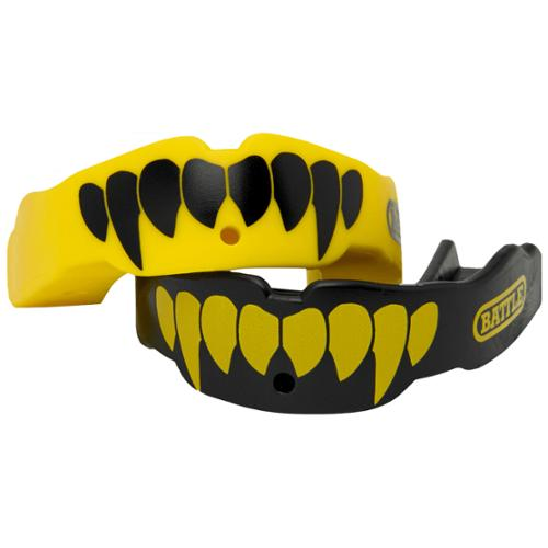 Battle Sports Fang Mouthguard Red/White Adult