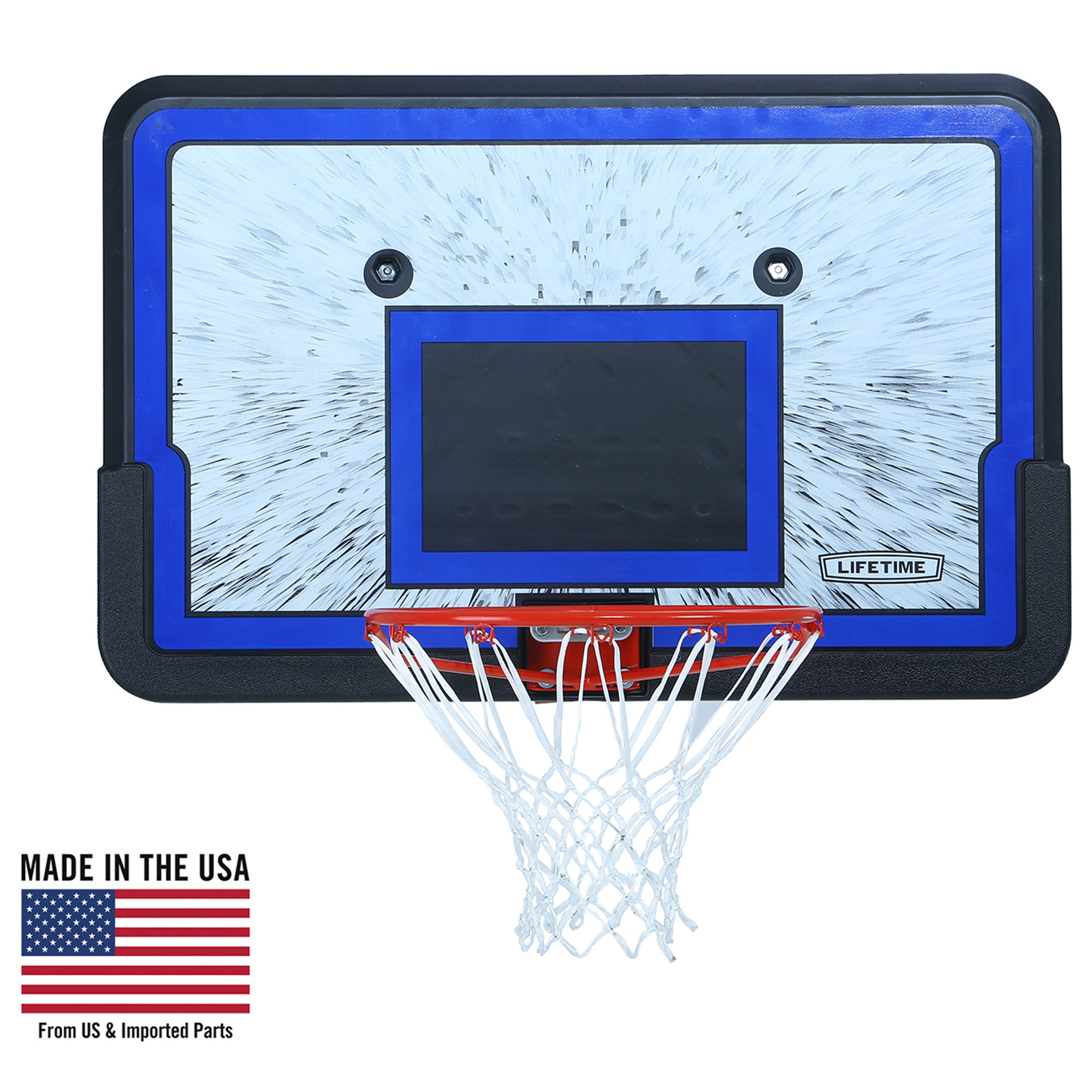 "Lifetime 44"" Backboard and Rim Basketball Combo, 3241"