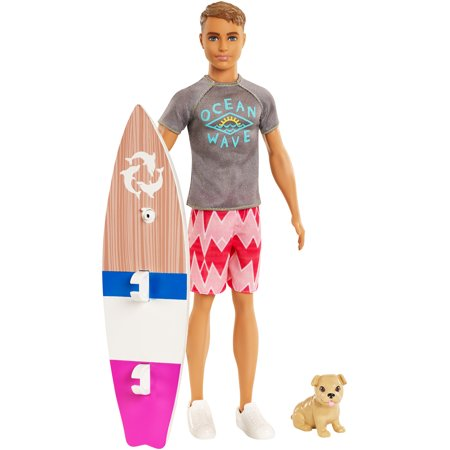 Barbie Dolphin Magic Ken Doll with Puppy &