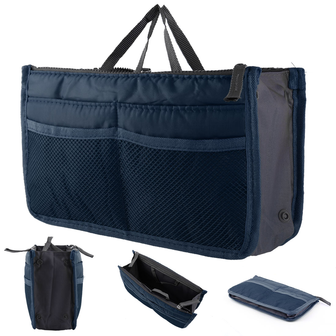 Travel Toiletry Wash Bag Expandable Multiple layers Cosmetic Bag Shower Organizer