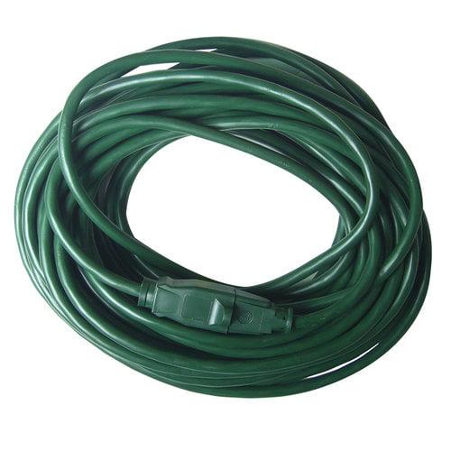 16/3 Green Cord, 40'