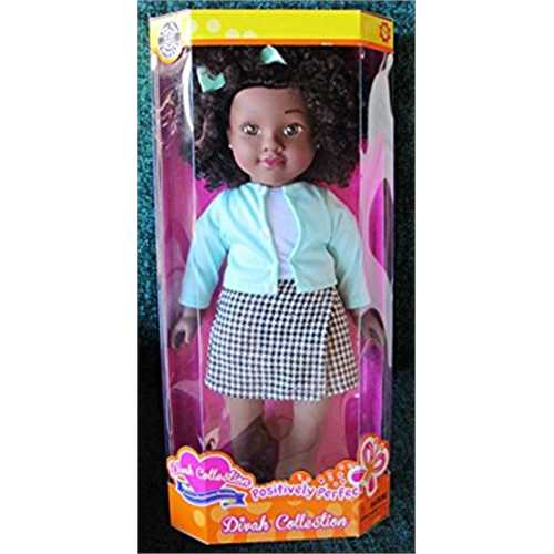 Positively Perfect Divah Taylor African American 19 Doll by