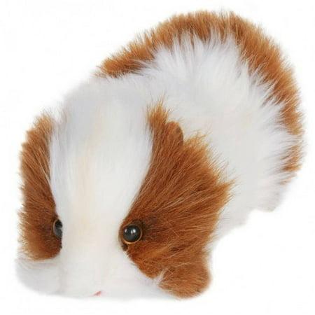 Hansa Brown and White Guinea Pig Plush Toy