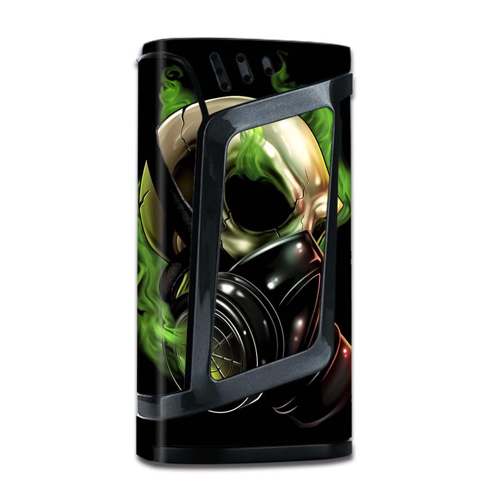 Skins Decals For Smok Alien 220W Tc W Grip-Guard   Gas Mask Skeleton by Itsaskin