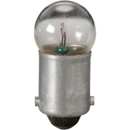 Eiko 51, 7.5V .22A G3-1/2 Miniature Bayonet Base Light Bulb (Pack of
