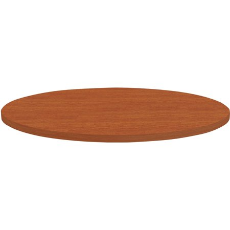 Lorell, LLR62573, Round Invent Tabletop - Cherry, 1 (Lorell Round Tabletops)