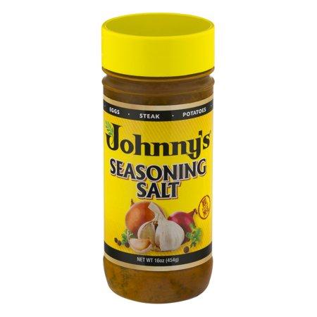 Johnnys Seasoning Salt  16 Oz