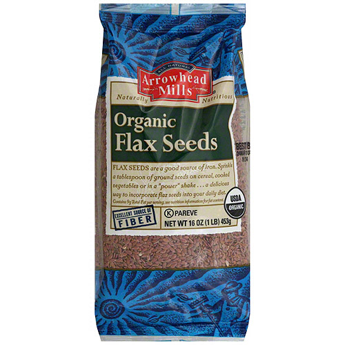 Arrowhead Mills Flax Seeds, 16 oz (Pack of 6)